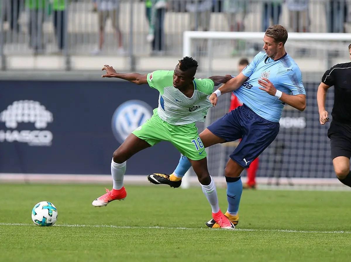 Osimhen Shines Despite Wolfsburg's Friendly Defeat To Newcastle