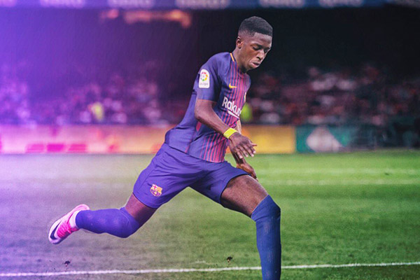 Barcelona Confirm €105m Dembele Signing, Set €400m Buyout Clause