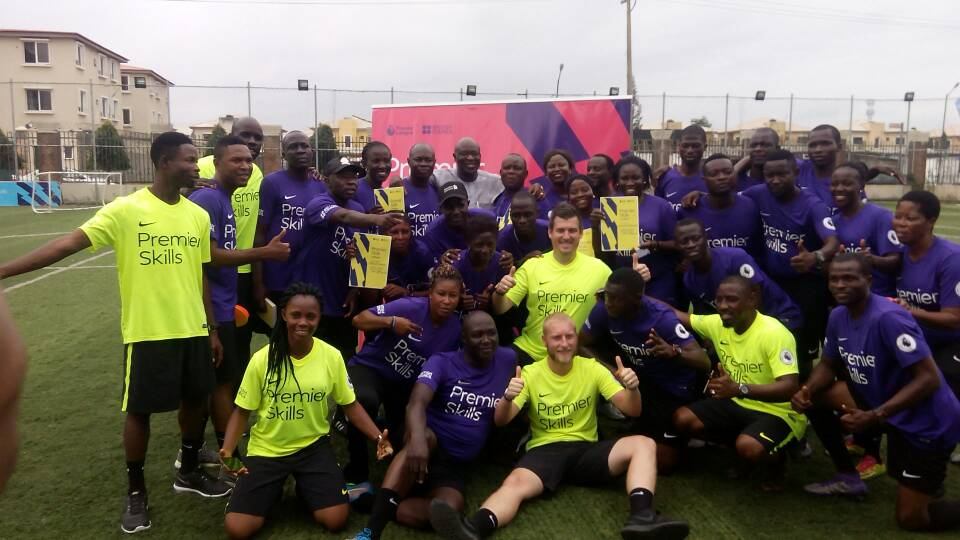Premier Skills: 34 Nigerian Coaches Trained By Premier League In Partnership With British Council