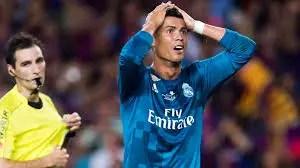 Zidane: Real Madrid Will Appeal Ronaldo's Red Card Vs Barcelona