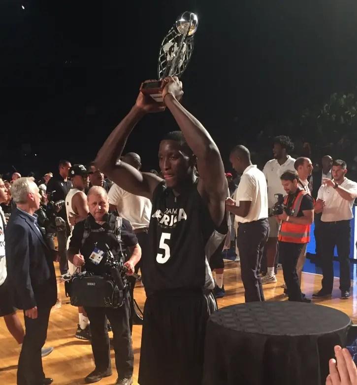 Oladipo Named MVP Of NBA Africa Game