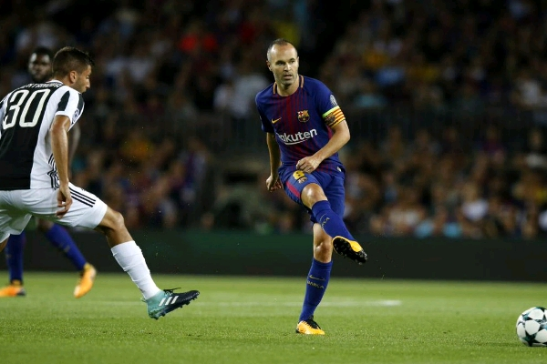 Iniesta 'Feels Good' After Barcelona's Champions League Win Over Juventus