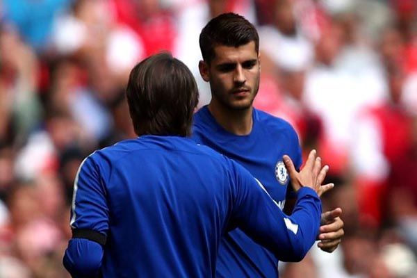 Be Like Diego Costa And Stop Playing Like A Gentleman, Conte Tells Morata