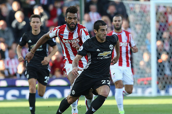 Cameroon's Choupo-Moting Stars As Stoke End Man United Run