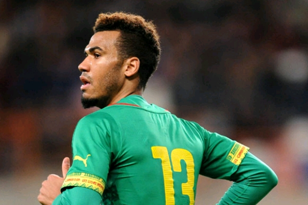 Cameroon Striker Choupo-Moting Doubtful For 2nd Leg Over Injury, Broos Expects Lions To  Win For Pride