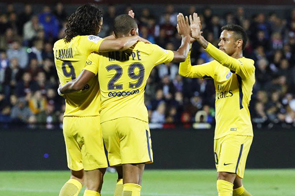Cavani: Expect More Goals From Me, Neymar, Mbappe