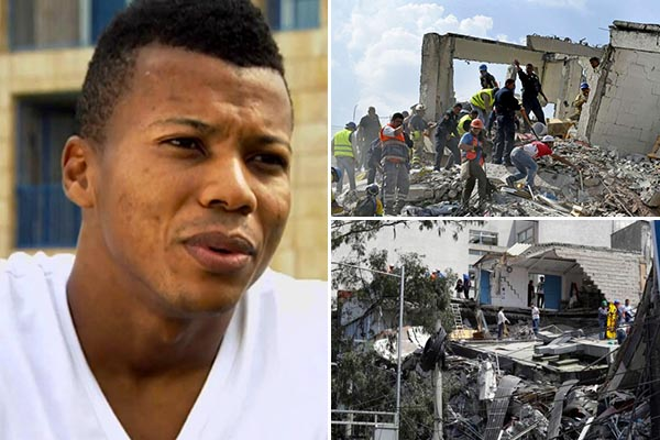 Ike Uche Sends Message Of Support To Mexico Over Earthquake Mishap