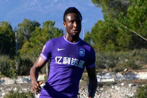 China: Mikel Missing As Tianjin TEDA Crash Out Of FA Cup