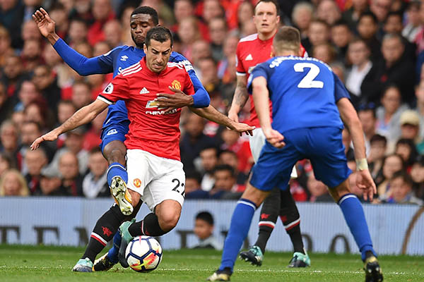 Lukaku Scores Again, Rooney Frustrated As Man United Thrash Everton