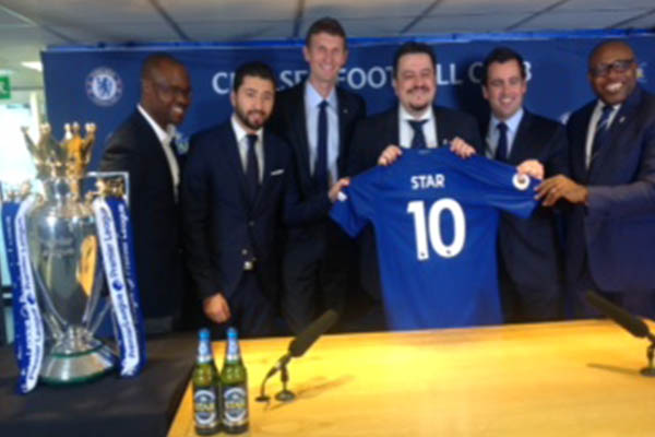 Star Lager Signs Partnership Agreement With Chelsea FC