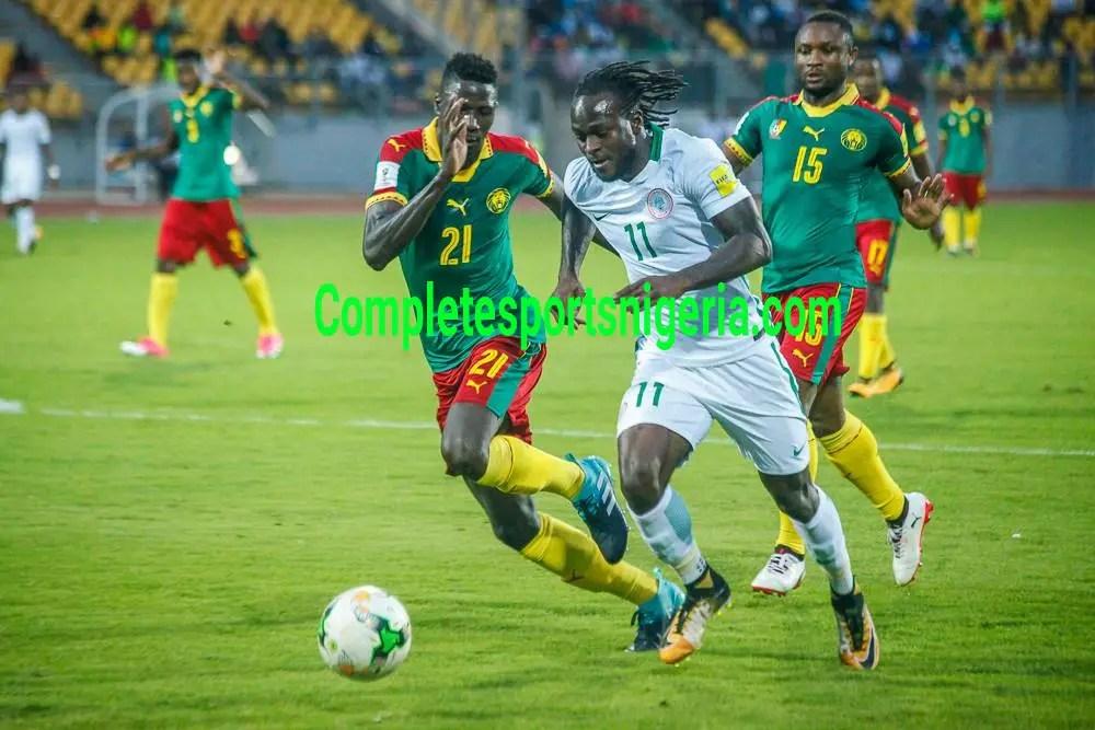 Lawal: Super Eagles, Cameroon Stalemate Fantastic Result