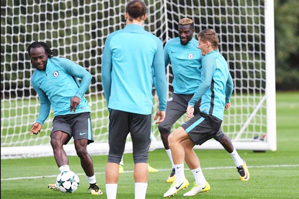 Moses Eager For Chelsea's Champions League Clash Vs Qarabag