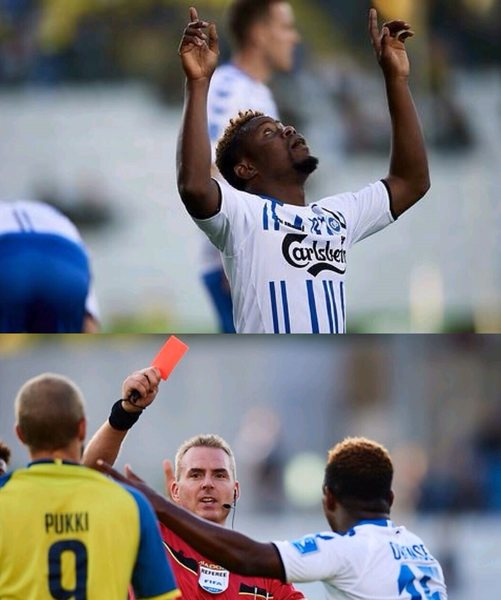Uzochukwu Scores, Sent Off In Odense Draw; Kayode Plays Sub Role As Girona Lose At Bilbao