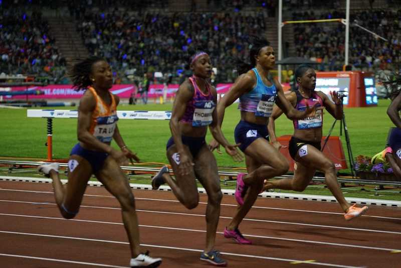 Okagbare Finishes 3rd In Brussels Diamond League 100m, Grabs $10,000