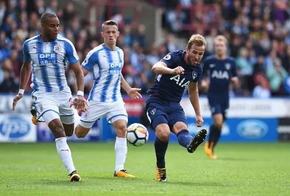 Red-Hot Kane Fires Tottenham Past Huddersfield