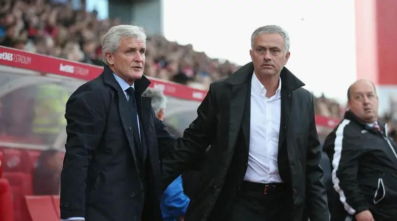 "Mark Hughes Blasts ""Lazy"" Mourinho After Stoke Criticism"