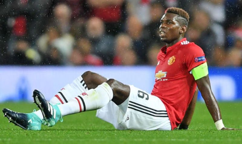 Pogba Feeling Positive In Instagram Picture Despite Estimated Six Weeks Injury Lay-off