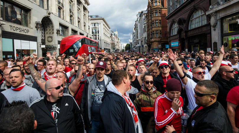 [Watch] 20,000 Cologne Fans Invade London For Europa League Game Against Arsenal