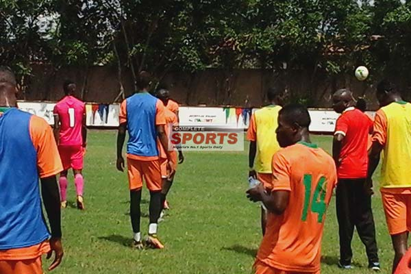 [Photos] See Complete Sports Exclusive Pictures Of Zambia Training On Tuesday In Ghana