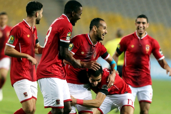 CAFCL Final 1st Leg: Ajayi In Action As Wydad Hold Ahly