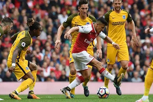 Sanchez Beats Monreal, Iwobi To Arsenal's Best Player Award   Vs Brighton