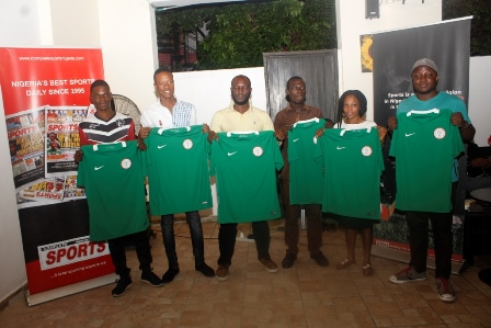 Complete Sports Rewards Seven Winners With Authentic Nigeria Super Eagles Jersey.