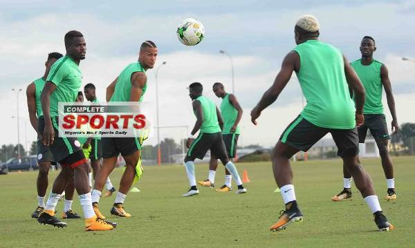 Echiejile Plays Down Ankle Injury During Eagles' Tuesday Training Session