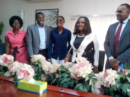 Emzor Brand Ambassador Oshoala Champions Girl-Child Education, Plans Girls Football Competition