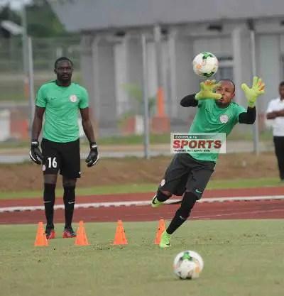 Ezenwa Hopes To Retain Role In Eagles Starting Line-up Vs Zambia