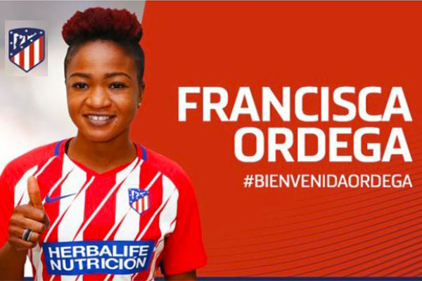 Oparanozie Excited As Ordega Joins Atletico Madrid