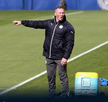 Leicester Caretaker Manager Appleton Targets Win Vs Swansea