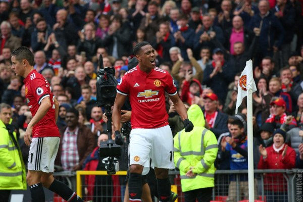 Martial To The Rescue As Man United Edge Past Tottenham