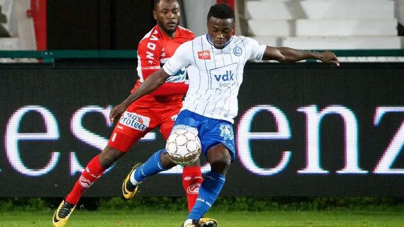 Simon, Awoniyi On Target As Gent Outscore Mouscron