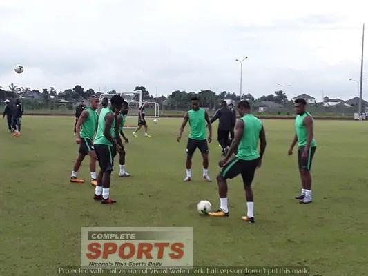 Iwobi's Dad: Why Alex Missed Eagles Training On Tuesday