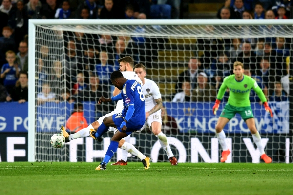 Leicester Boss Appleton Happy Iheanacho 'Grabbed His Opportunity'