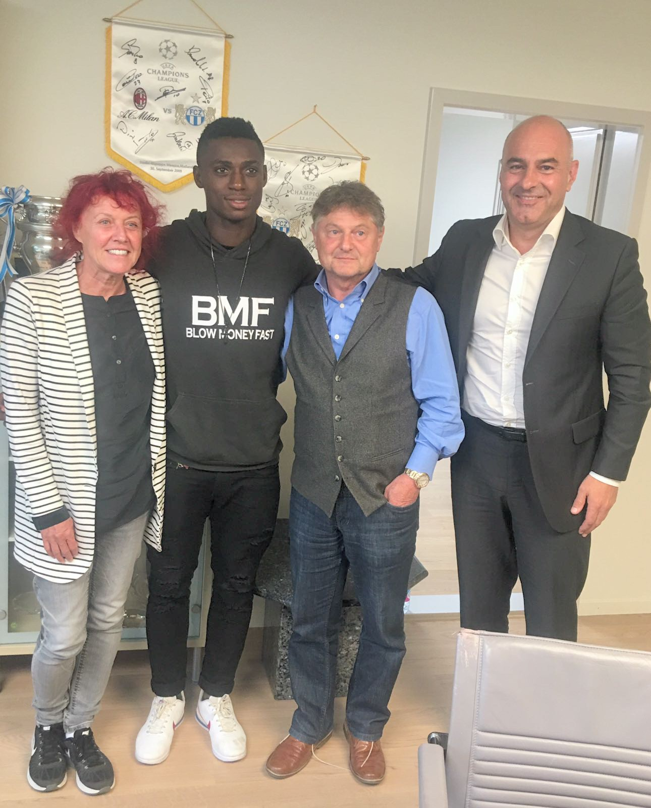 FC Zurich chieftain Excited Over Odey Signing