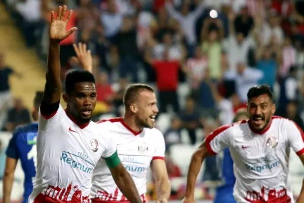 Eto'o Scores As Antalyaspor Deny Omeruo First League Win With Kasimpasa