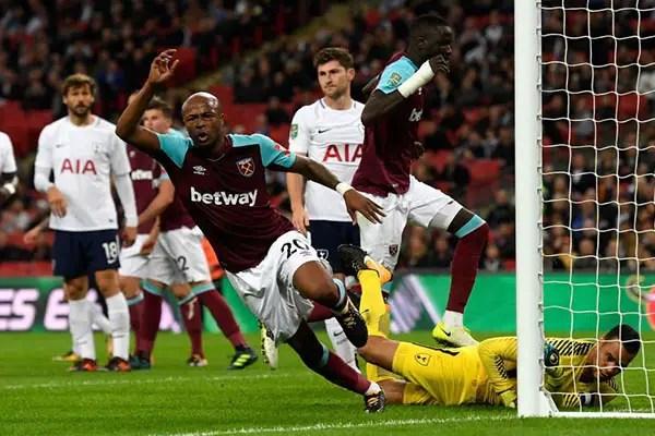 West Ham Stun Tottenham To Advance In Carabao Cup