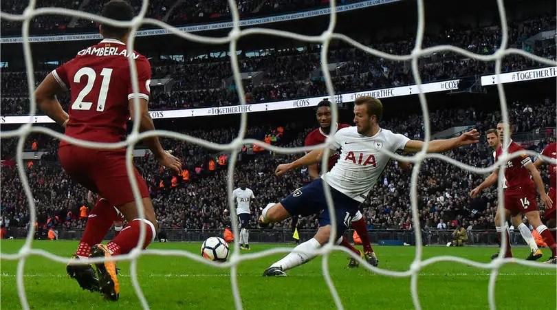 [Watch] Maradona Gives Harry Kane Goalscoring Tips Before Scoring Brace Against Liverpool