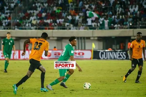 Iwobi: I Almost Cried When I Scored Winner Vs Zambia