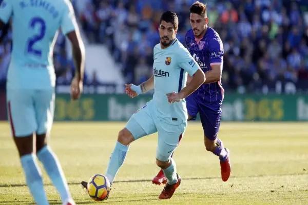 Suarez Ends Goal Drought As Barcelona Ease Past Leganes