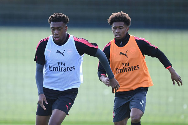 Arsenal's Youngster Nelson: Iwobi Has Helped Me Settle Into The Senior Squad