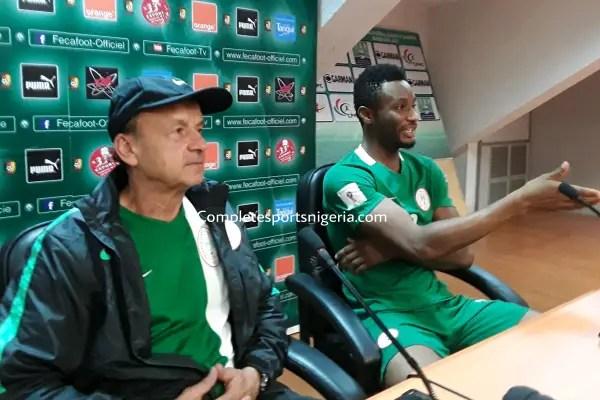 Pascal: Rohr Not Taking Algeria, Argentina Clashes Lightly