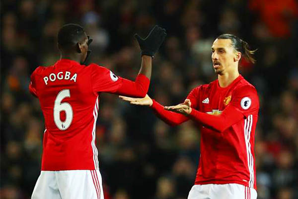 Mourinho Hopes Injured Pogba, Zlatan Return For Man United Soon
