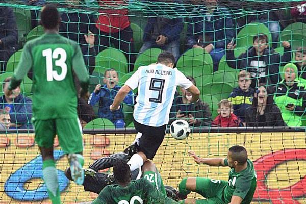 'Dizzy' Aguero Cleared By Doctors After Argentina Defeat To Nigeria