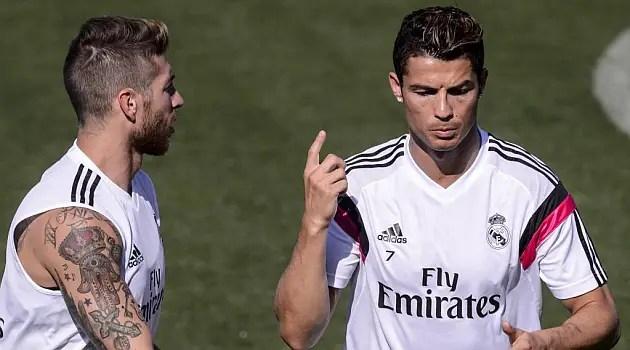 Ramos, Ronaldo Disagree Over Reason For Real Madrid Slump