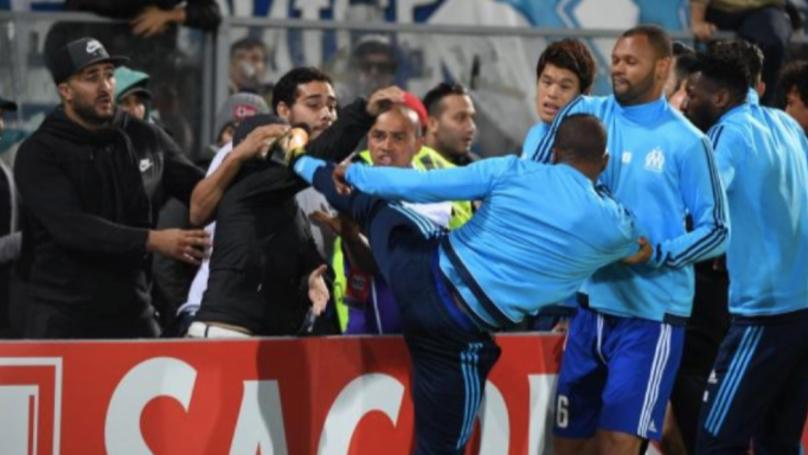 Marseille To Investigate Evra's Red Card After Sending Off Before Europa League Game In Portugal