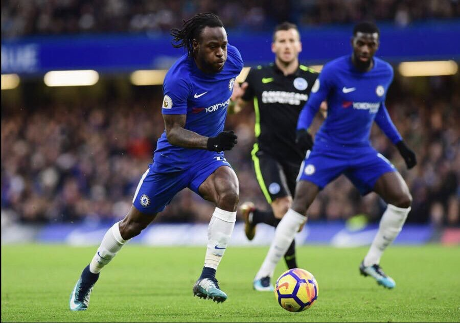 Moses Happy To Make 100th Appearance For Chelsea