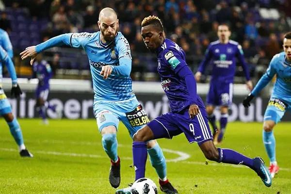 Onyekuru Sad Over Anderlecht Home Defeat, Thankful To God For Goal Scored