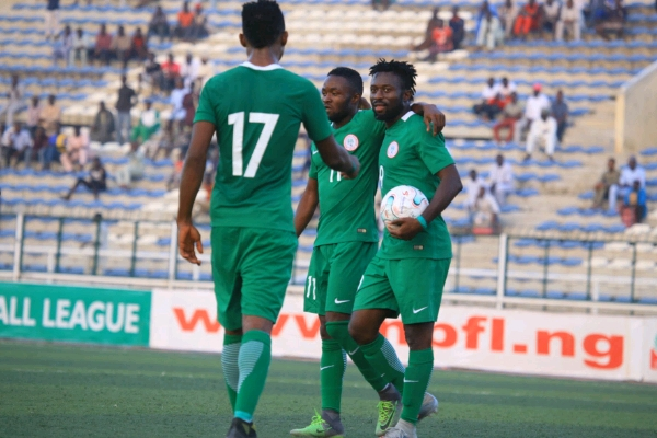 Home Eagles Beat Amateur Water FC In CHAN Friendly